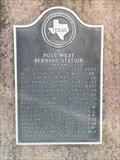 Image for Site of Post West Bernard Station