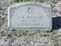 Image for J.H. Williams - Matagorda Cemetery, Matagorda, TX