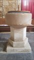 Image for Baptism Font - St John the Baptist church - Grimston, Leicestershire