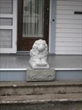 Image for Lion at Albert I. Crandall House - Lebanon, Oregon