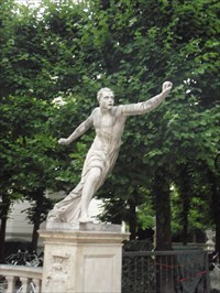 "Mirabell Gardens Greek Statues - ""The Sound of Music"" - Salzburg"