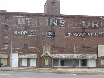 Bekins Furniture Store Sioux City Ia Ghost Signs On