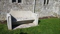 Image for Edward & Mabel Munro bench - St Editha - Baverstock, Wiltshire