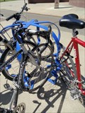 Image for Faces and Criss Cross Bike Racks, Auraria Campus - Denver, CO