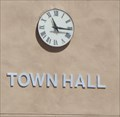 Image for Town Hall Clock - Florence, AZ