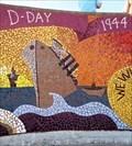 Image for D-Day. 1944 - Mural - Eisenhower Pier, Bangor, Northern Ireland.