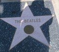 Image for The Beatles' star on the Hollywood Walk of Fame - Los Angeles, CA