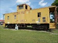 Image for UP Caboose 25201 - Henryetta, OK