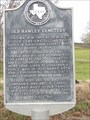 Image for Old Hawley Cemetery