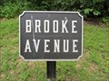 Image for Brooke Avenue - Cast Iron Avenue Tablets - Gettysburg National Military Park Historic District - Gettysburg, PA