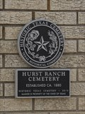 Image for Hurst Ranch Cemetery