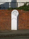 Image for High Street Milestone - Newport Pagnell, Buckinghamshire, UK