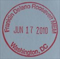 "Image for ""Franklin Delano Roosevelt MEM - Washington, DC"" - Washington Monument Bookstore and Ticket Counter"