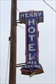 Image for Henry Hotel Sign - Mineola Downtown Historic District - Mineola, TX
