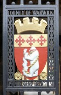 Image for Warwickshire County Council Coat-of-Arms - Shire Hall, Northgate Street, Warwick, UK