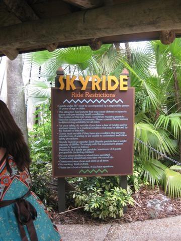 Skyride - Busch Gardens, Tampa - Aerial Lifts on Waymarking.com