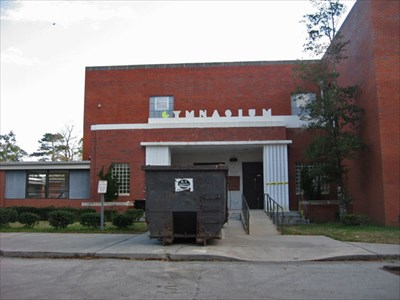 The original building for the Annie H. Snipes Elementary School.  Soon to be demolished to build a newer Snipes Academy in 2010-11.