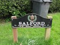 Image for Salford Sign - Salford, Bedfordshire, UK