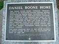 Image for Daniel Boone's Homesite, Defiance Missouri