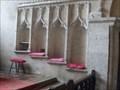 Image for Piscina and Sedilia - Church of All Saints, Church Road, Tilney All Saints, Norfolk. PE34 4SJ