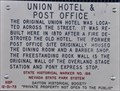 Image for Union Hotel & Post Office