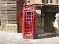 Image for K6 Red Telephone Box - Valletta, Malta