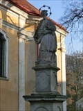 Image for St. John of Nepomuk // sv. Jan Nepomucký - Úvaly, Czech Republic