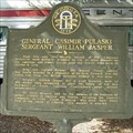 Image for General Casimir Pulaski & Sergeant William Jasper - Savannah, GA