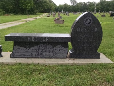 Hester Dedicated Bench, by MountainWoods