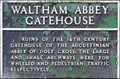 Image for Waltham Abbey Gatehouse - Waltham Abbey, Essex, UK