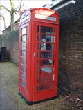 Image for Two Red Telephone Boxes - Heath Street, London, UK