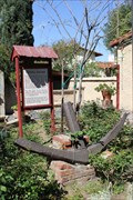 Image for FIRST -- Ship built in CA out of Local Materials -- Mission San Gabriel Archangel, San Gabriel CA