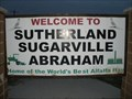 Image for Welcome to Sutherland - Sugarville - Abraham, Utah