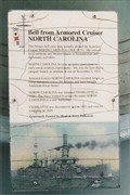 Image for Bell from Armored Cruiser North Carolina - Wilmington, NC