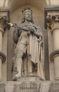Image for Monarchs - King Charles I On Side Of City Hall - Bradford, UK