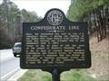 Image for Confederate Line - GHM 110-11 - Paulding Co., GA