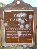 Image for Taos Canyon