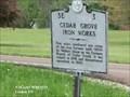 Image for Cedar Grove Iron Works -  Linden TN