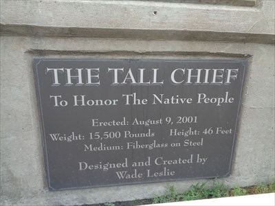 Giant Indian Chief