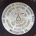 """Image for Benchmark """"Z 491-A"""" - Huntsville, AL"""
