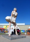 Image for 26-foot-tall Marilyn Monroe sculpture lands in Palm Springs
