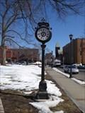 Image for Holyoke Rotary Club Freestanding Clock - Holyoke, MA