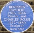 Image for Benjamin Haydon and Charles Rossi - Rossmore Road, London, UK