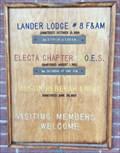 Image for Lander Lodge #8, F. & A.M. - Austin, Nevada