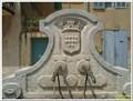 Image for Le blason sur la fontaine - Alleins, France