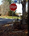 Image for Solar Powered Blinking Stop Sign - MA