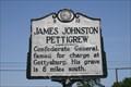 Image for James Johnston Pettigrew, Marker B-12