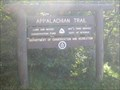 Image for Appalacian Trail - Sign on Mount Greylock, MA