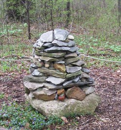 Gospel Hill Cairn - Up Close