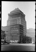 """Image for """"Downtown Building, St. Louis, Missouri""""  May 1940"""